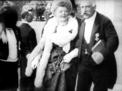 Bertha at the Peace Palace Opening, 1913