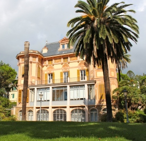 Nobel's villa in Sanremo, Italy, where he died alone in 1896